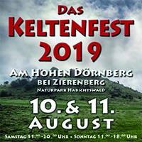Keltenfest 2019 3. Keltenfest auf dem Dörnberg