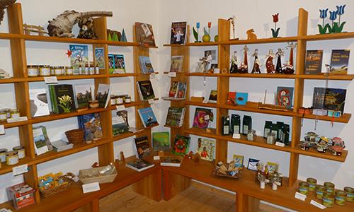 Lädchen Naturpark Shop mit regionalen Produkten