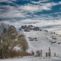 Naturpak Habichtswald Horst Siebert Helfensteine Winter Fotorundgang auf dem Dörnberg