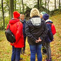 Naturpark HAbichtswald Otto Hartmann Familienwaldbaden Familienwaldbaden   eine gemeinsame Auszeit im Wald