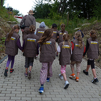 Naturpark Habichtswald 2013 AHartmann Naturparkentdecker1 Kindergeburtstag im Naturparkzentrum Habichtswald – ein ganzjähriges Abenteuer
