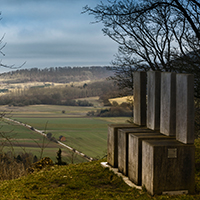 Naturpark Habichtswald 2015 HSiebert Schauenburg Langenberg XL – Tageswanderung von Gudensberg zur Ruine Schauenburg