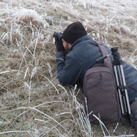 Naturpark Habichtswald 2016 ALudolph Fotowanderung Bijan Die Natur am Weidelsberg durch das Objektiv des Fotoaperates sehen.