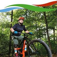 Naturpark Habichtswald 2019 MTB Flyer Mountainbike Touren im August