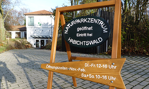 Naturpark Habichtswald AHartmann 2013 NPZ Aufsteller Winterzeiten Winteröffnungszeiten im Naturparkzentrum Habichtswald