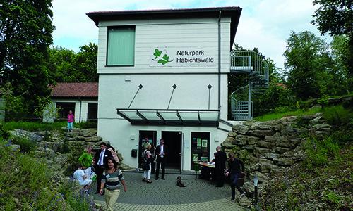 Naturpark Habichtswald AHartmann 2013 NPZ Eingang Gutes Jahr für Naturparkzentrum Habichtswald