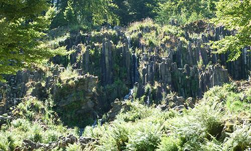 Naturpark Habichtswald AHartmann 2013 Steinhöfer Wasserfall Achtsamkeitswanderung im Bergpark Wilhelmshöhe