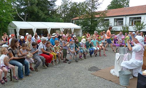 Naturpark Habichtswald AHartmann 2014 Naturparkfest Tolle Geburtstagsfeier bei strahlendem Sonnenschein im Naturparkzentrum Habichtswald