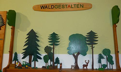 Naturpark Habichtswald AHartmann 2014 Wald gestalten Wald gestalten – neues Steckspiel für Kinder im Naturparkzentrum