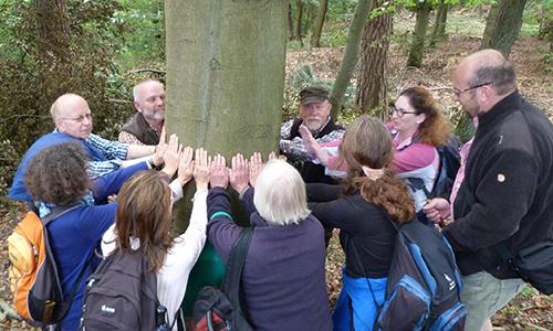Naturpark Habichtswald AHartmann 2014 ZNL Prüfung Ausbildung der Naturparkführer für den Naturpark Habichtswald abgeschlossen