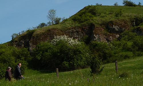 Naturpark Habichtswald AHartmann 2014 großer Kessel1 Was können Steine uns erzählen?