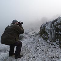 Naturpark Habichtswald ALudolph Fotowanderung Dörnberg Winter Mit der Fotokamera ein Stück Natur vom Dörnberg nach Hause tragen