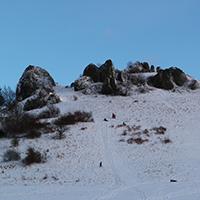 Naturpark Habichtswald ALudolph Helfensteine Schnee1 Mit der Fotokamera ein Stück Natur vom Dörnberg nach Hause tragen
