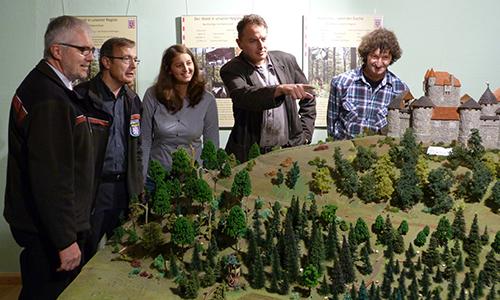 Naturpark Habichtswald BLang 2013 Eröffnung Weidelsburgausstellung Naturparkzentrum mit neuer Ausstellung