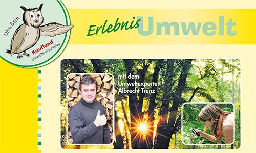 Naturpark Habichtswald Erlebnis Umwelt Kaufland Umweltmobil beim Naturparkfest