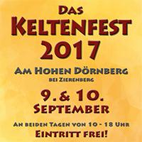 Naturpark Habichtswald Flyer Keltenfest 2017 2. Keltenfest am Hohen Dörnberg