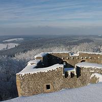 Naturpark Habichtswald_Krackrügge_Weidelsburg_Winter