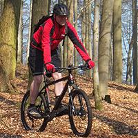 Naturpark Habichtswald Pfennig MTB2 Feierabendrunde mit dem Mountainbike