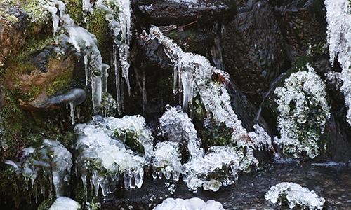 Naturpark Habichtswald VDN Mili Jnner Das Element Wasser im Winter