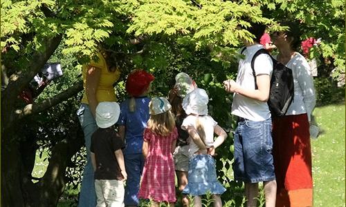 Naturpark Habichtswald VDN Ulrike Sobick unterm Ahorn Osterferienaktion: Groß und Klein   Zusammen raus!