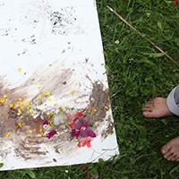 Pflanzenfarben Werkstatt Pflanzenfarben   Basteln und Gestalten für Kinder