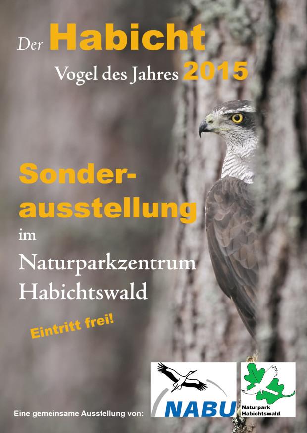 Plakat 620x876 Der Habicht – Vogel des Jahres 2015