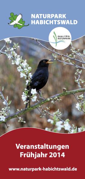Titel Programm Fruehjahr 2014 Neues Frühjahrsprogramm für den Naturpark Habichtswald
