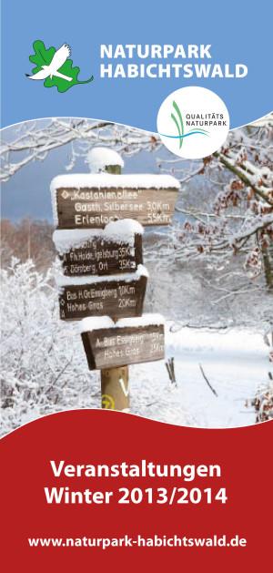 Titelbild Winterflyer 300x629 Naturpark Habichtswald stellt neues Winterprogramm vor