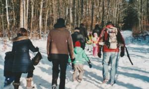 Winterwanderung Naturpark Hirschwald (c) D Reisch