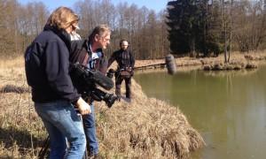 Das Bayerische Fernsehen im Naturpark Hirschwald (c) Naturpark Hirschwald