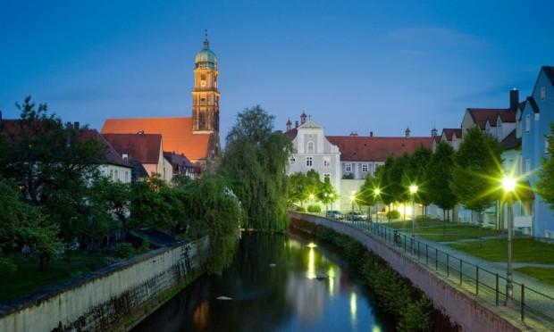 Die Vils in Amberg c Stadtmarketing Amberg 620x372 Sandsteinbauten im Mittelalter   Merkwürdiges und Unbekanntes