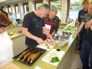 Fischkochkurs (c) Fischereiverein Amberg