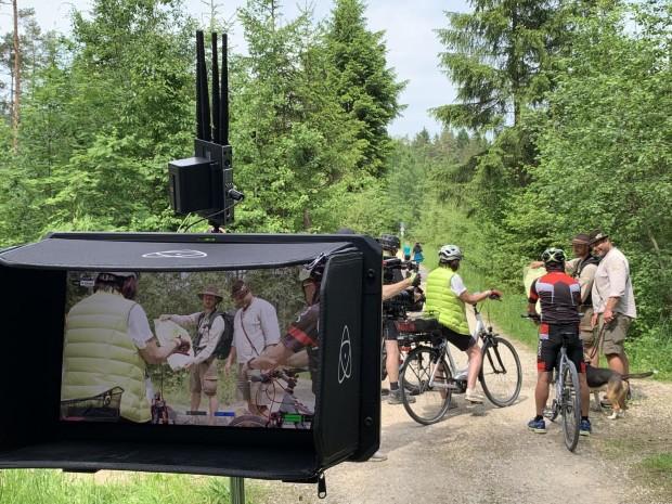 K1600 Filmaufnahmen c Naurpark Hirschwald 620x465 Der Naturpark Hirschwald bekommt einen Image Film