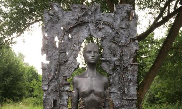 KWST Amberg Einweihung der Kunstwanderstation Amberg