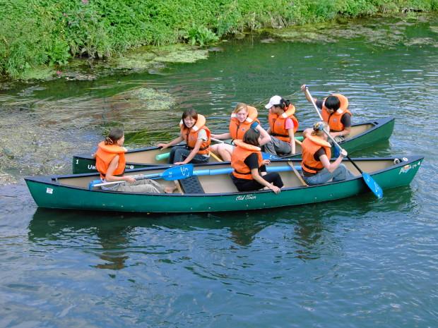 Kanufahrt 1  c  Kloster Ensdorf 620x465 Raus auf`s Wasser  mit dem Kanu