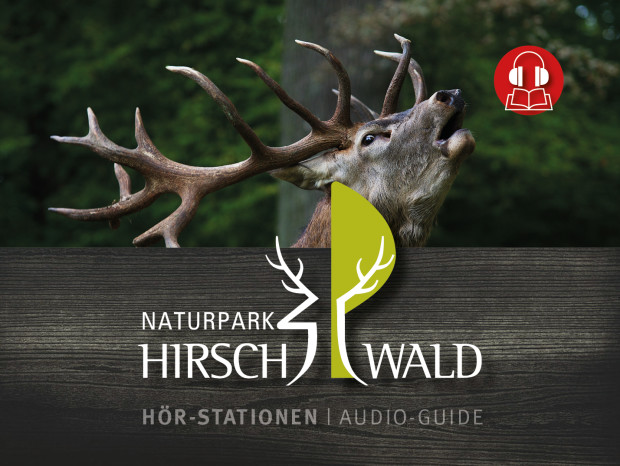 Leporello Titel Rueck 620x466 Der Naturpark Hirschwald im Hosentaschen Format