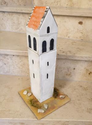 Modell Stephansturm (c) Mittelschule Ensdorf