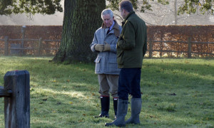 Prinz Charles und David Wilson (c) Der Bauer und sein Prinz