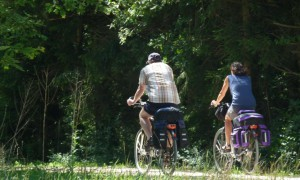 Radfahrer (c) Naturpark Hirschwald
