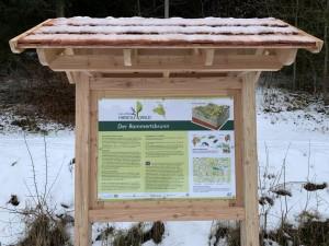 Rammertsbrunn Tafel (c) Naturpark Hirschwald