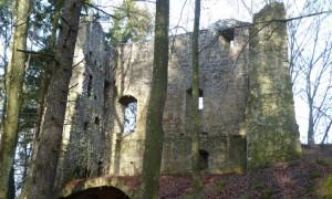 Ruine Roßstein (c) Naturpark Hirschwald