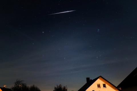 Tauride klein Volkssternwarte Amberg Ursensollen: Beobachtung des Merkurtransits