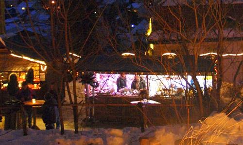 c Naturpark Hirschwald Gruber 2012 Advent Fackelführung mit Musik zum Advent in Amberg