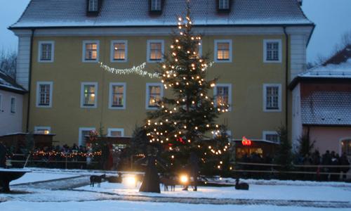 c Naturpark Hirschwald Hollederer Advent Theuern 2013 Advent in Schloss Theuern