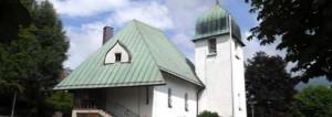 Die evangelische Paul-Gerhardt-Kirche in Rieden (c) Ev. Pfarramt Rieden