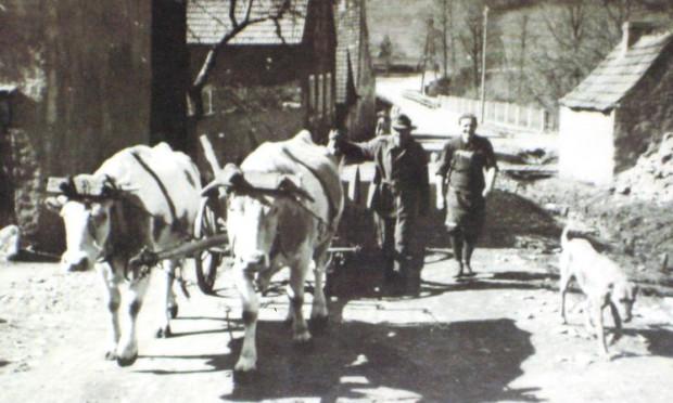 heimfahrt vom feld 620x372 Ensdorf und das Kloster in alten Bildern