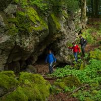 Wanderung auf dem Felsenpfad