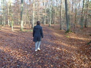 Birgit im Wald - 1