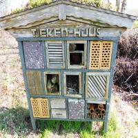 Insektenhaus 1 Bienen, Hummeln und andere Brummer