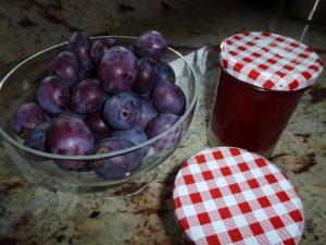 Marmelade aus Pflaumen
